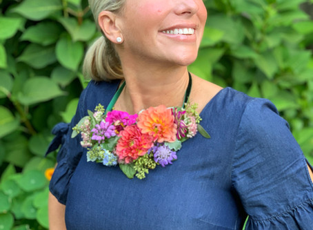 """From Brides to Blooms"" - Newburyport Daily News Article, October 2019"