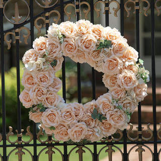 floral design wreath