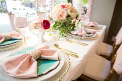 Elegant Table Arrangement by AML