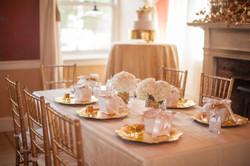 Princess Party Table Arrangements