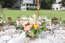 garden wedding centerpirce