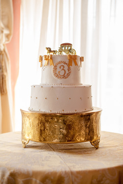 Princess Party Custom Cake
