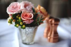 rustic wedding cocktail arrangement