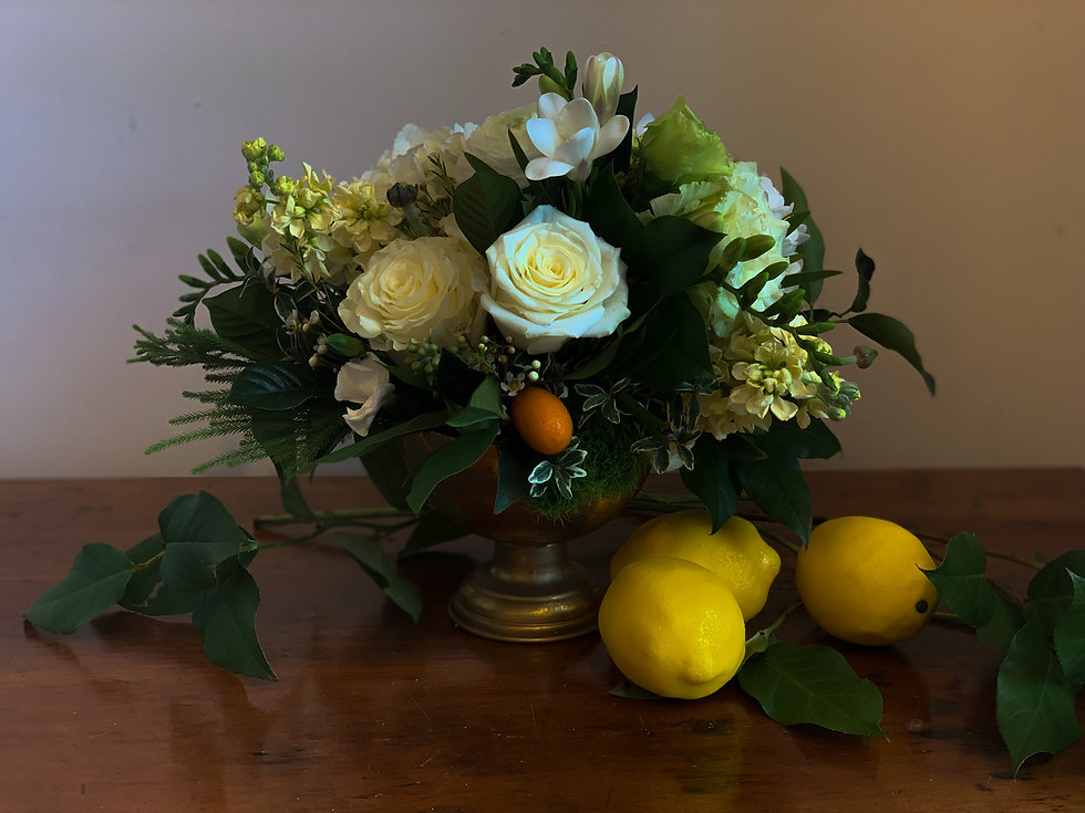 Amy McLaughlin Flowers Arrangement