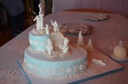 Custom Cake and Decorations