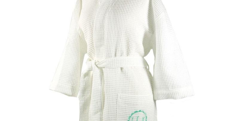 Waffle Knit Bath Robe