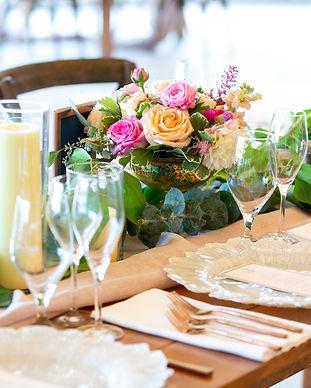 dining floral design