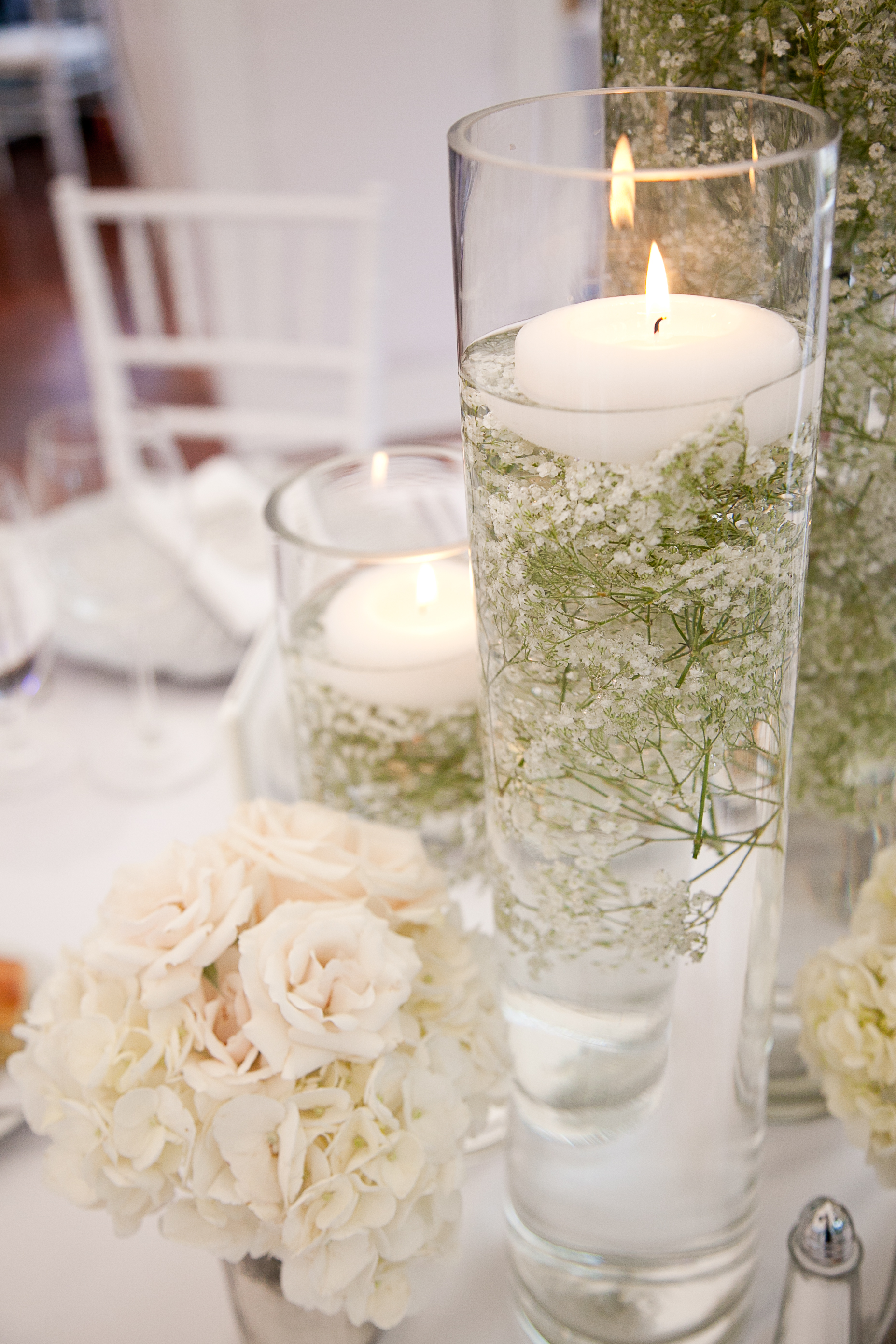 wedding floating candles