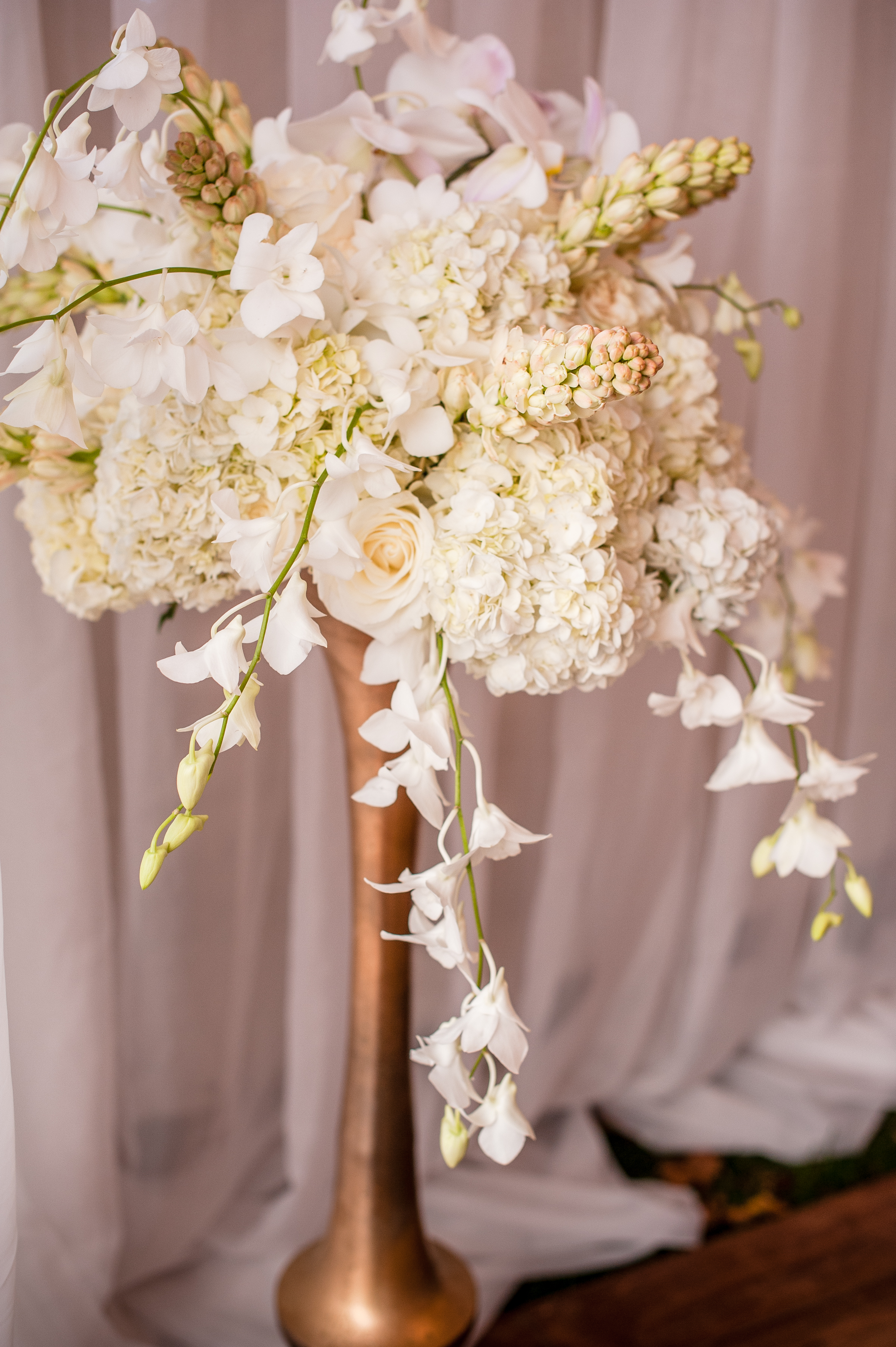 orchis wedding flowers