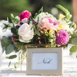 floral design for centerpeice