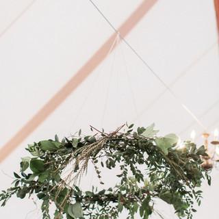 small green leaf wreath