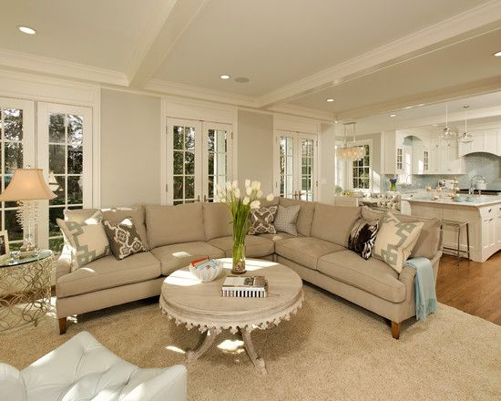 Open Living Room Design