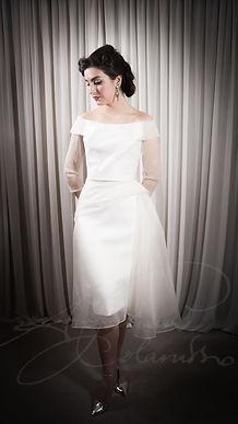 Debrette Wedding Dress - Designer Wedding Dresses by Wedding Dress Designer Angelina Colarusso.