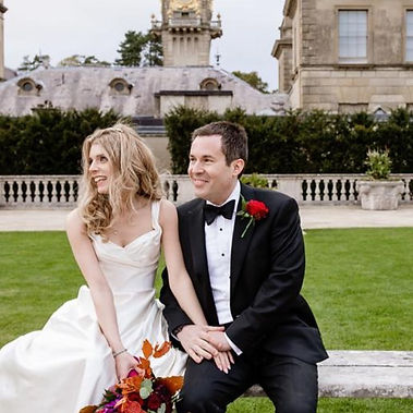 Beautiful #colarussobride Natasha wearing a stunning duchess satin couture gown designed by Angelina Colaruso, with hourglass silhouette and bespoke corsetry, Natsha looked elegant and glamorous in a classic and timeless bridal gown.
