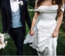 Angelina Colarusso's bespoke wedding dress for £colarussobride Roseanna. A couture corseted bodice with hand draped duchess satin. Elegant and glamorous, a couture wedding dress with an hourglass silhouette.