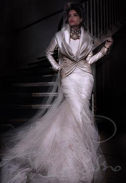 Vivienne Wedding Dress by Wedding Dress Designer Angelina Colarusso