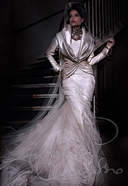 Vivienne Wedding Dress by Wedding Dress Designer Angelina Colarusso