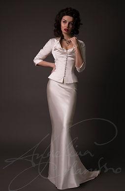 Cristianne Wedding Dress - Designer Wedding Dresses by Wedding Dress Designer Angelina Colarusso.