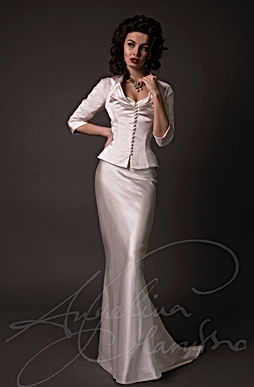 Cristianne Wedding Dress - Designer Wedding Dresses by Wedding Dress Designer Angelina Colarusso.