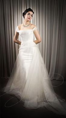 Myla Wedding Dress - Designer Wedding Dresses by Wedding Dress Designer Angelina Colarusso.
