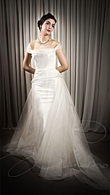 Myla Wedding Dress - Designer Wedding Dresses by Wedding Dress Designer Angelina Colarusso.