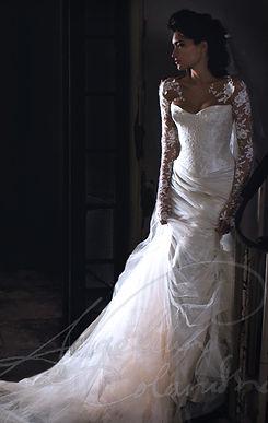 Elise Wedding Dress by Wedding Dress Designer Angelina Colarusso