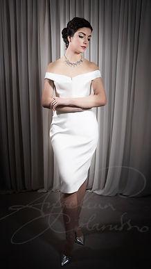 Deneuve Wedding Dress - Designer Wedding Dresses by Wedding Dress Designer Angelina Colarusso.