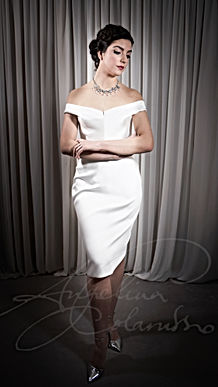 Deneuve Wedding Dress - Designer Wedding Dresses by Wedding Dress Designer Angelina Colarusso.