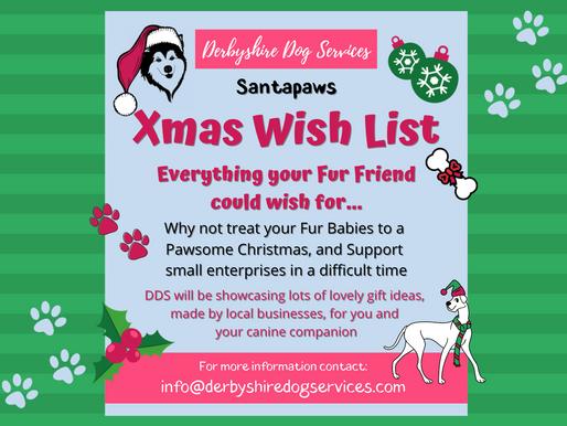 Santapaws Xmas Gift List