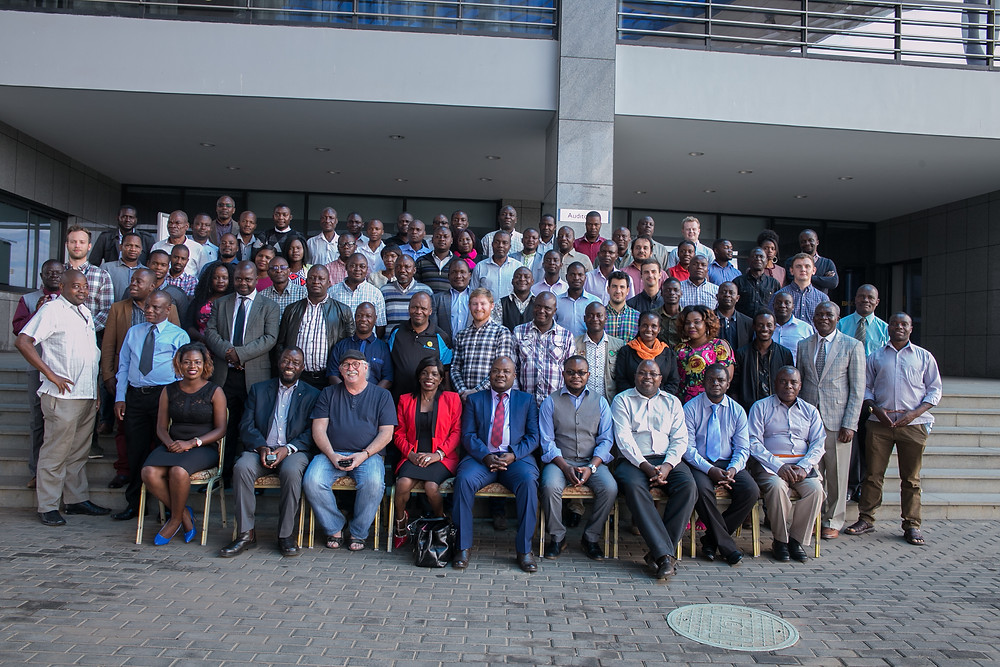 Group picture of the IAH and Drillers Conference