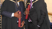 Muthi Nhlema achieves an MBA at Heriot-Watt University