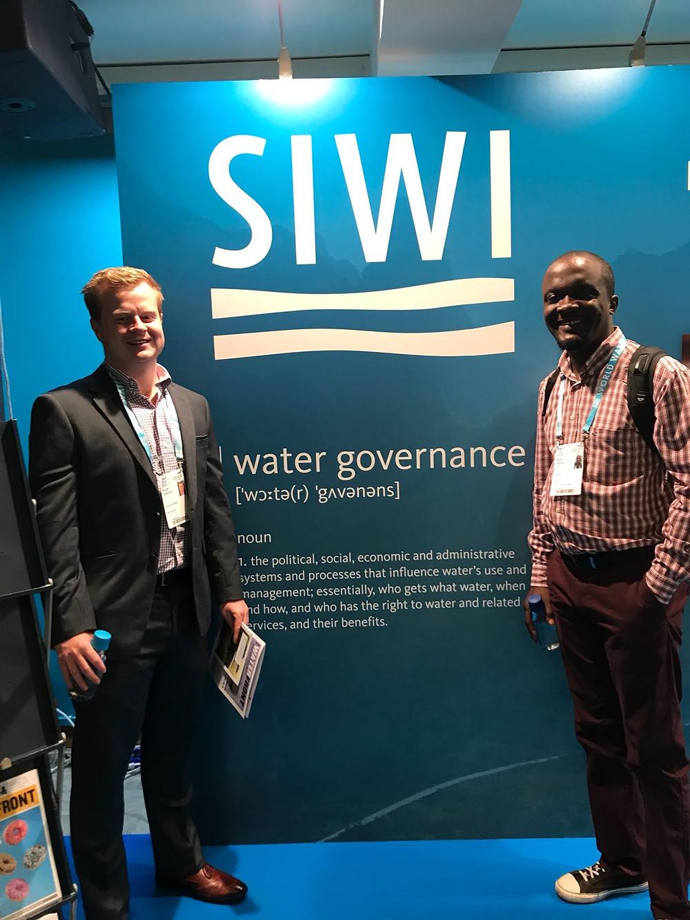 Donald Robertson (University of Strathclyde) and Muthi Nhlema (Baseflow)