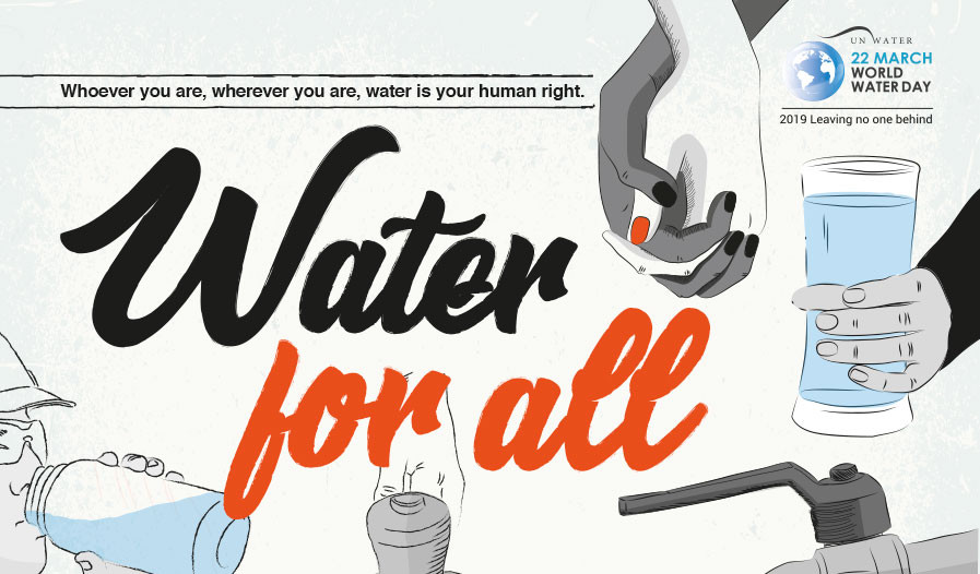 Advert of the World Water Day 2019