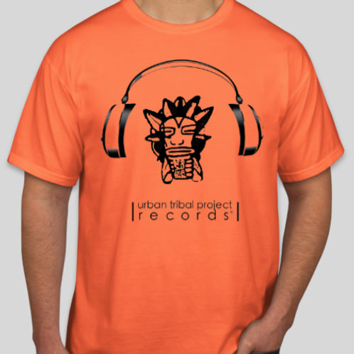 Urban Tribal Project Records T-Shirt w Minimal Logo