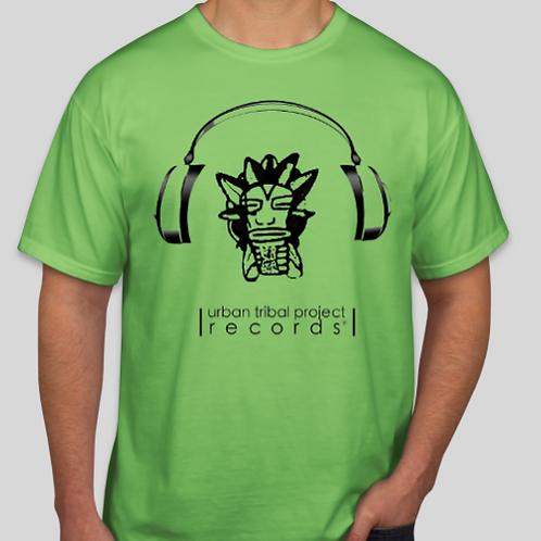 Green T-Shirt w Minimal Logo