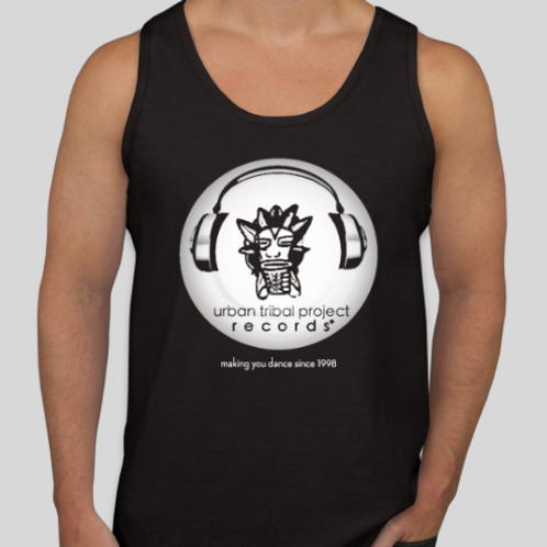 Black Tank Top with Original Logo