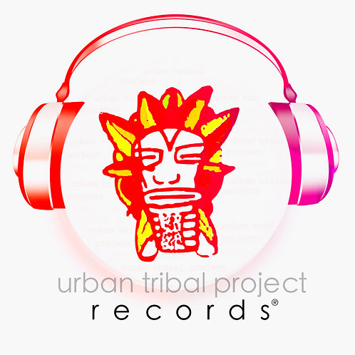Urban Tribal Project Records 16x16 Poster