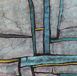 Blue Square detail
