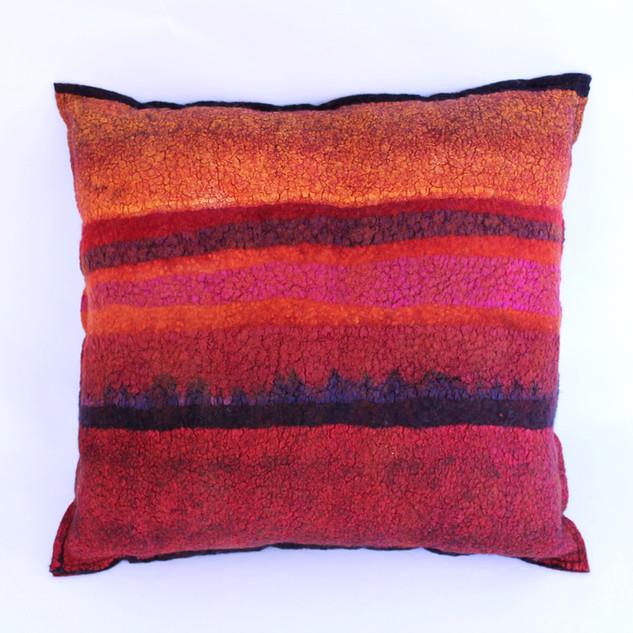 Nunofelted Pillow