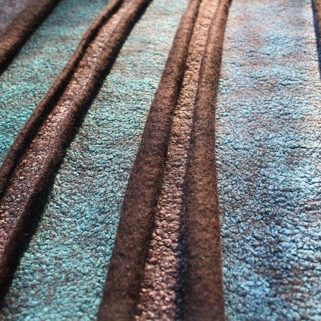 Blue Fissure II. detail