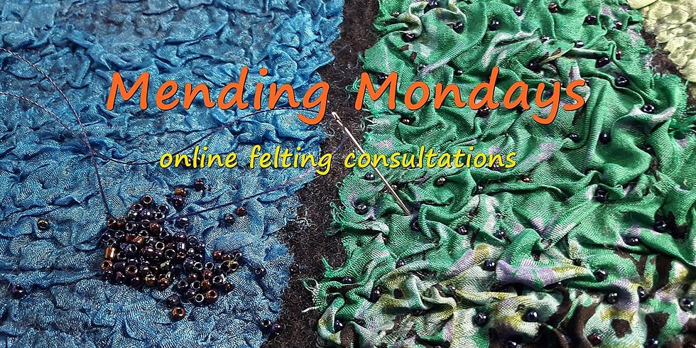 Mending Monday : : Nov- April