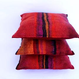 Nunofelted Pillows