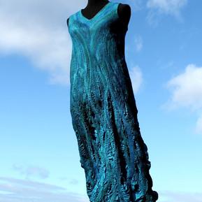 Sleeveless Evening Dress - Flora Carlile-Kovacs