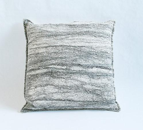 Nunofelt Birchbark Pillow
