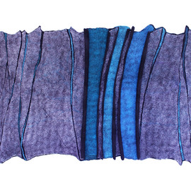 Blue Fissure II