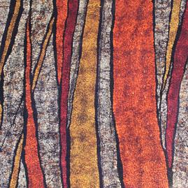Orange Marble II. Detail