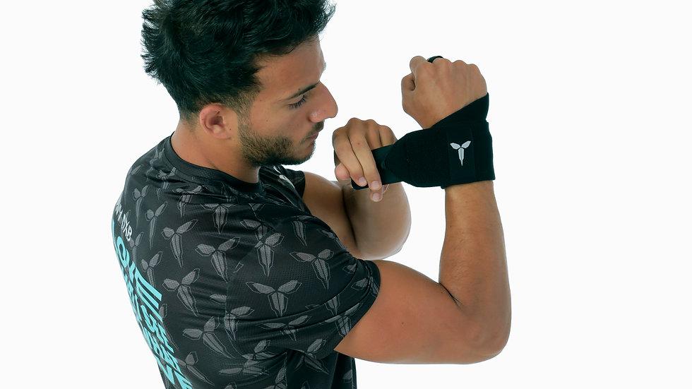 NAVY Black Wrist Support