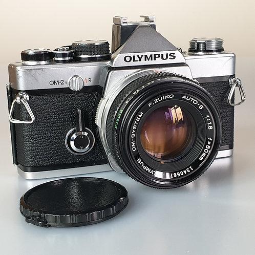 Olympus OM-2N OM2N with 50mm f:1.8 Zuiko Auto-S
