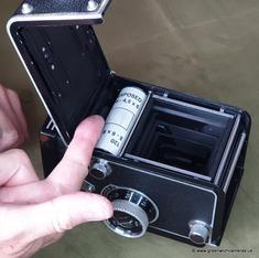 Remove the film