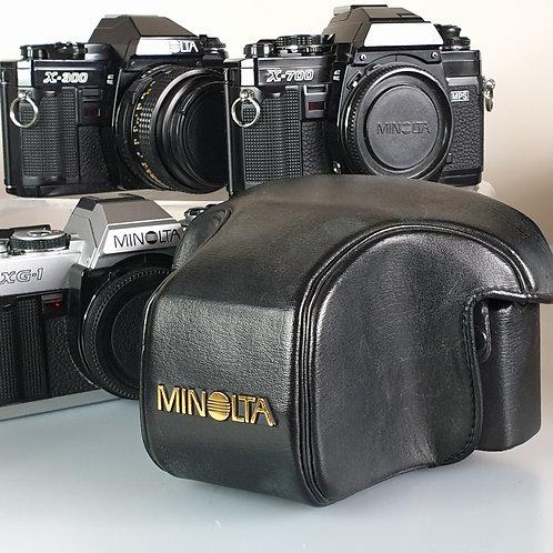 Minolta X SERIES Original Vintage Ever Ready Hard Case X300 X500 X700 XG